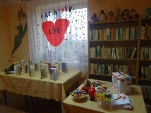 Walentynki w Bibliotece Publicznej w Krajnie