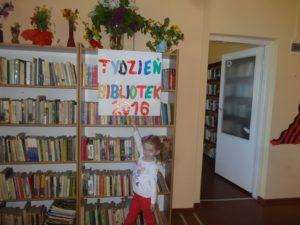 Tydzień Bibliotek 2016  w Bibliotece Publicznej w  Krajnie