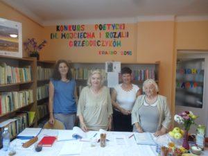 """Wyniki """"Konkursu Poetyckiego im. Wojciecha i Rozalii Grzegorczyków"""""""